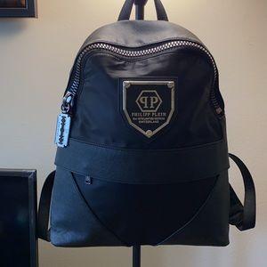 UNISEX Philipp Plein backpack saffiano leather